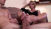 Footjob - Sons Unexpected Visit thumb