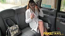 FakeTaxi Sexy lady in fishnet lingerie - download porn videos