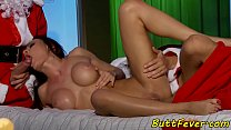 Assfucked euro babe gets presents
