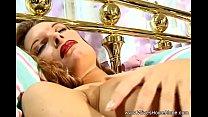 horny housewife masturbates and cums