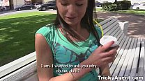 Tricky Agent - Young redtube brunette looks youporn great in xvideos teen porn! thumbnail