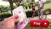 BANGBROS - Young Bicyclist Mila Hendrix Gets He...