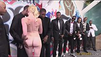 Miley May Turns An Interracial Blowbang Into A ...