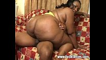 Fat Black Honey Couch Fuck At Home