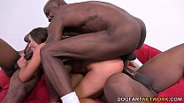 Euro Babe Amirah Adara Gets Gang Banged By Blac...