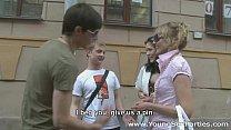 Русское порно уломал жену на групповуху 71