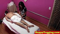 Real japanese masseuse gives happy ending porn videos
