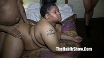 20 yr thick BBW fucked and gangbanged by monster dicks