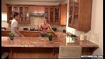 Tori Black fucked in kitchen porn videos
