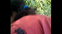 Desi cute girl sucking her boyfriend outdoor - download porn videos