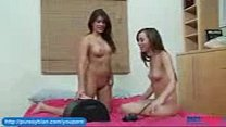 Shyla Jennings and Capri Anderson Rides The Sybian)