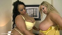 Busty British BBW Leah Jayne N Shanice Richards...