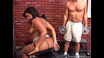 Super cute chubby black chick loves to suck cock and get her fat pussy eaten out porn videos