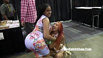 pornstars and freaks at 2016 chicago exxxotica ...