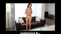 Casting Couch-X Gymnast wants to balance on big...