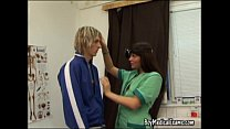 student college blond for exam medical Boy