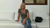 Hot Blonde Fucked By Fake Agent On Sofa