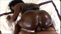 18 yr old ebony teen amateur in Big Booty Black...