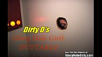 Glory Hole Girlz Cock Sucking Sluts OUTTAKES - ...