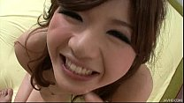 Sultry Japanese honey Suzanna's pretty pussy fi...