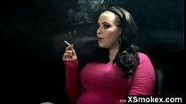 Wicked Smoking Woman Pounded
