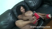 Pornstar Ebony SugarStorm Sucking and Fucking P...