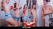 BFFS - Dorm Party Sex Tape Leaked