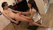 Milf in heats Karen Natsuhara devours cock in POV