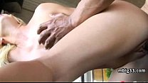 Tight unsuspecting girl takes a big dick in her...