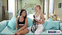 Adriana Chechik squirts and anal rides on Lyra ...