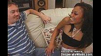 black asian mix hottie wife swallows