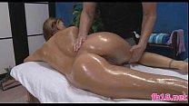 Voluptious 18 year old massage patient