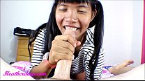 heather deep gets throatpie creamthroat after shopping