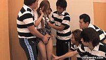 Terrific Asian manager getting fucked by the boys hard - Download mp4 XXX porn videos