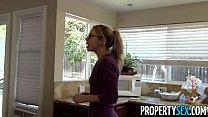 PropertySex - Horny spirit turns cute innocent agent into crazy sex demon porn videos