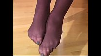Adrienne Manning pantyhose