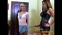 Pizza boy ends up as a slave in this dominatrix...
