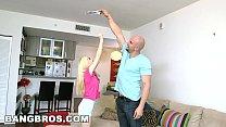 BANGBROS - Tiny Teen Piper Perri Takes J-Mac's Big Cock! (bbc13846) thumbnail