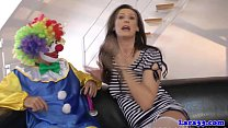 clown cockriding milf stockings British