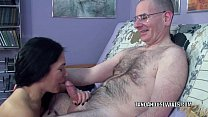 Mature brunette Cleo Leroux is swallowing a sti...