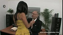 Young Slutty Secretary Fucks Old Boss - download porn videos