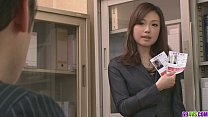 Two Guys Fuck And Creampie Aiko Hirose At The Office thumbnail