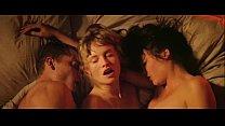 a scene of threesome