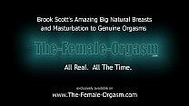 Big Natural Breasts and Horny Masturbation to O...
