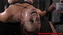 BDSM fetish sub Bella Rossi spitroasted porn videos