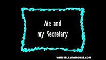 Black boss - white secretary 1