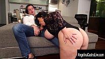Cuban Italian Pornstar Threesome with Angelina ...