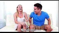 MyVeryFirstTime - Aubrey Sinclair fucks her ste...