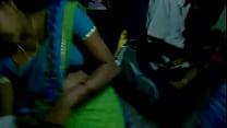 sleeping bus in open blouse aunty telugu hooks