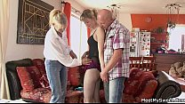 parents my with threesome in gf my found just I